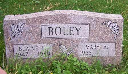 BOLEY, MARY A. - Stark County, Ohio | MARY A. BOLEY - Ohio Gravestone Photos