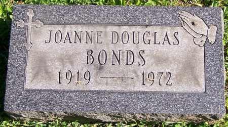 BONDS, JOANNE DOUGLAS - Stark County, Ohio | JOANNE DOUGLAS BONDS - Ohio Gravestone Photos