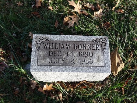 BONNER, WILLIAM - Stark County, Ohio | WILLIAM BONNER - Ohio Gravestone Photos