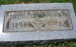 BONNOT, JULIA M. - Stark County, Ohio   JULIA M. BONNOT - Ohio Gravestone Photos