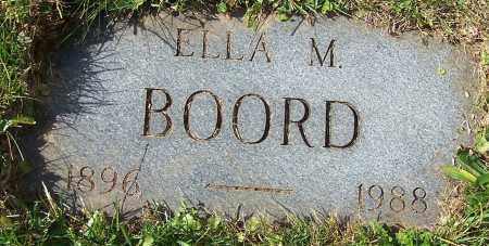 BOORD, ELLA M. - Stark County, Ohio | ELLA M. BOORD - Ohio Gravestone Photos
