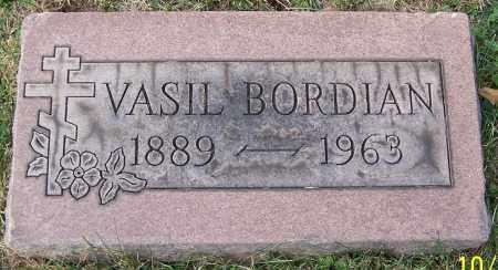 BORDIAN, VASIL - Stark County, Ohio   VASIL BORDIAN - Ohio Gravestone Photos