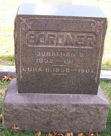 BORDNER, CORA B. - Stark County, Ohio | CORA B. BORDNER - Ohio Gravestone Photos