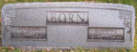 BORN, CHARLES - Stark County, Ohio | CHARLES BORN - Ohio Gravestone Photos