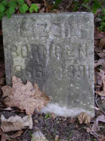 BORNGEN, LIZZIE - Stark County, Ohio | LIZZIE BORNGEN - Ohio Gravestone Photos