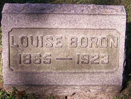 BORON, LOUISE - Stark County, Ohio | LOUISE BORON - Ohio Gravestone Photos
