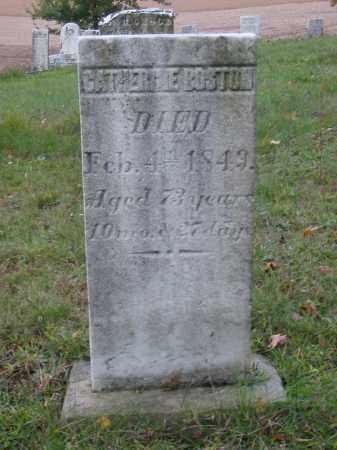 BOSTON, CATHERINE - Stark County, Ohio   CATHERINE BOSTON - Ohio Gravestone Photos