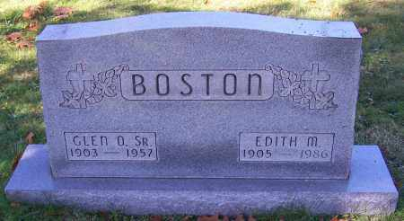 BOSTON, EDITH M. - Stark County, Ohio | EDITH M. BOSTON - Ohio Gravestone Photos