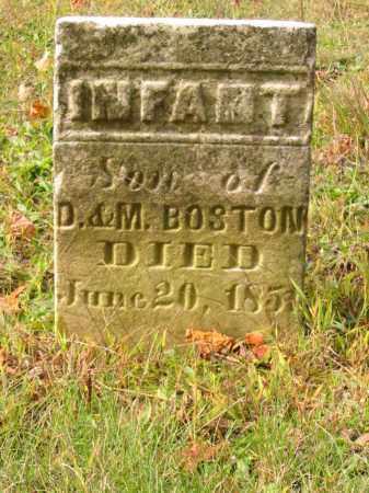 BOSTON, INFANT SON - Stark County, Ohio | INFANT SON BOSTON - Ohio Gravestone Photos