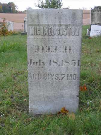 BOSTON, MICHAEL - Stark County, Ohio | MICHAEL BOSTON - Ohio Gravestone Photos