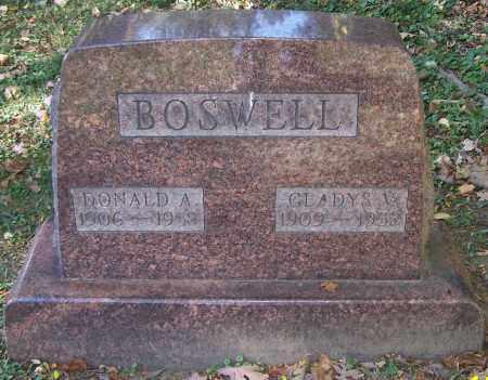 BOSWELL, GLADYS V. - Stark County, Ohio   GLADYS V. BOSWELL - Ohio Gravestone Photos