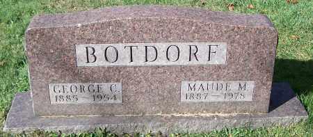 BOTDORF, MAUDE M. - Stark County, Ohio | MAUDE M. BOTDORF - Ohio Gravestone Photos