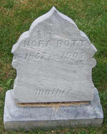 BOTT, NORA - Stark County, Ohio | NORA BOTT - Ohio Gravestone Photos