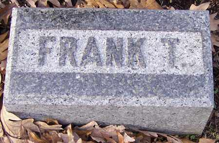 BOW, FRANK T. - Stark County, Ohio | FRANK T. BOW - Ohio Gravestone Photos