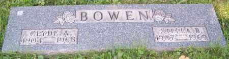BOWEN, STELLA B. - Stark County, Ohio | STELLA B. BOWEN - Ohio Gravestone Photos