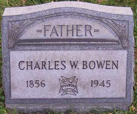BOWEN, CHARLES W. - Stark County, Ohio   CHARLES W. BOWEN - Ohio Gravestone Photos