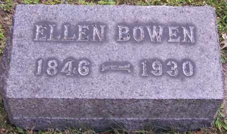 BOWEN, ELLEN - Stark County, Ohio   ELLEN BOWEN - Ohio Gravestone Photos