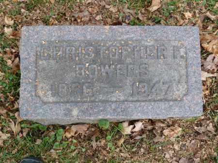 BOWERS, CHRISTOPHER - Stark County, Ohio | CHRISTOPHER BOWERS - Ohio Gravestone Photos