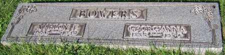 BOWERS, GEORGIANNA - Stark County, Ohio | GEORGIANNA BOWERS - Ohio Gravestone Photos