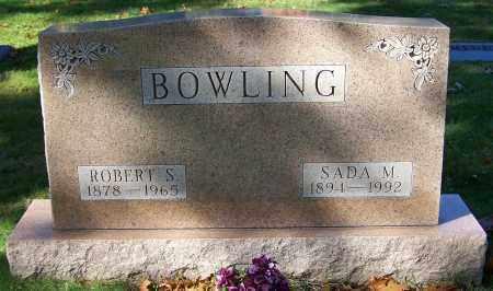 BOWLING, SADA M. - Stark County, Ohio | SADA M. BOWLING - Ohio Gravestone Photos