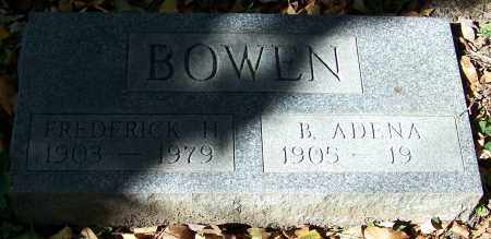 BOWLN, FREDERICK H. - Stark County, Ohio | FREDERICK H. BOWLN - Ohio Gravestone Photos