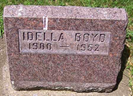 BOYD, IDELLA - Stark County, Ohio   IDELLA BOYD - Ohio Gravestone Photos
