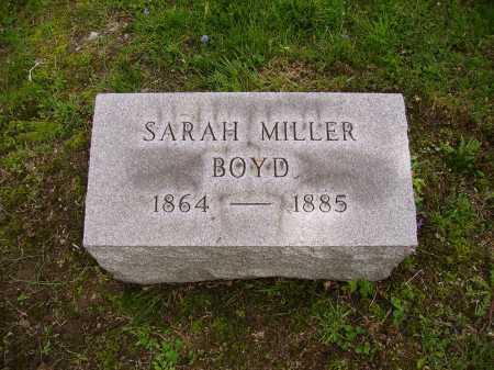 MILLER BOYD, SARAH - Stark County, Ohio   SARAH MILLER BOYD - Ohio Gravestone Photos