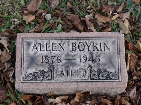 BOYKIN, ALLEN - Stark County, Ohio | ALLEN BOYKIN - Ohio Gravestone Photos