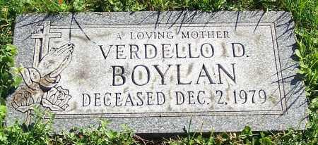 BOYLAN, VERDELLO D. - Stark County, Ohio | VERDELLO D. BOYLAN - Ohio Gravestone Photos