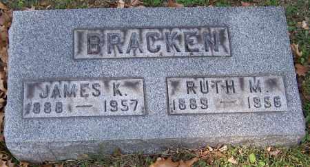 BRACKEN, JAMES K. - Stark County, Ohio | JAMES K. BRACKEN - Ohio Gravestone Photos