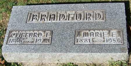 BRADFORD, CLIFORD E. - Stark County, Ohio   CLIFORD E. BRADFORD - Ohio Gravestone Photos