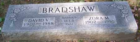 BRADSHAW, DAVID V. - Stark County, Ohio | DAVID V. BRADSHAW - Ohio Gravestone Photos