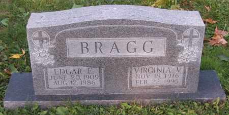 BRAGG, VIRGINIA V. - Stark County, Ohio   VIRGINIA V. BRAGG - Ohio Gravestone Photos
