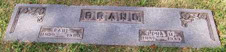 BRAND, PAUL - Stark County, Ohio | PAUL BRAND - Ohio Gravestone Photos
