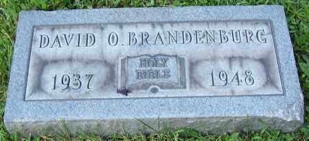 BRANDENBURG, DAVID O. - Stark County, Ohio | DAVID O. BRANDENBURG - Ohio Gravestone Photos