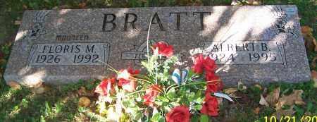BRATT, ALBERT B. - Stark County, Ohio | ALBERT B. BRATT - Ohio Gravestone Photos