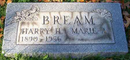 BREAM, MARIE A. - Stark County, Ohio | MARIE A. BREAM - Ohio Gravestone Photos