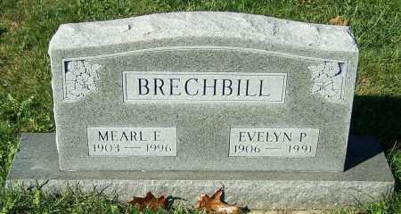 BRECHBILL, EVELYN P. - Stark County, Ohio | EVELYN P. BRECHBILL - Ohio Gravestone Photos