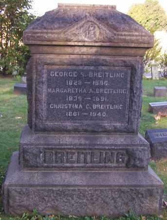 BREITLING, MARGARETHA A. - Stark County, Ohio | MARGARETHA A. BREITLING - Ohio Gravestone Photos