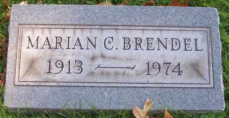 BRENDEL, MARIAN C. - Stark County, Ohio | MARIAN C. BRENDEL - Ohio Gravestone Photos