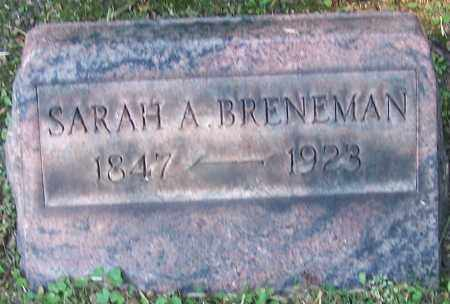 BRENEMAN, SARAH A. - Stark County, Ohio | SARAH A. BRENEMAN - Ohio Gravestone Photos