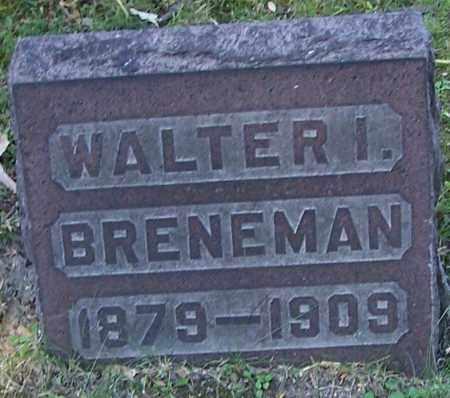 BRENEMAN, WALTER I. - Stark County, Ohio | WALTER I. BRENEMAN - Ohio Gravestone Photos