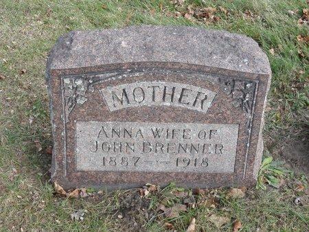 BRENNER, ANNA - Stark County, Ohio | ANNA BRENNER - Ohio Gravestone Photos