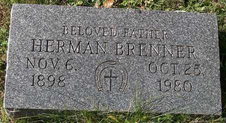 BRENNER, HERMAN - Stark County, Ohio | HERMAN BRENNER - Ohio Gravestone Photos