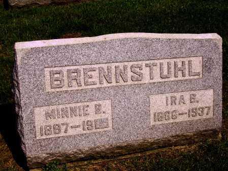 BRENNSTUHL, MINNIE B. - Stark County, Ohio   MINNIE B. BRENNSTUHL - Ohio Gravestone Photos