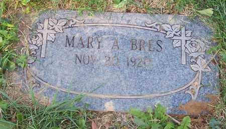 BRES, MARY A. - Stark County, Ohio   MARY A. BRES - Ohio Gravestone Photos