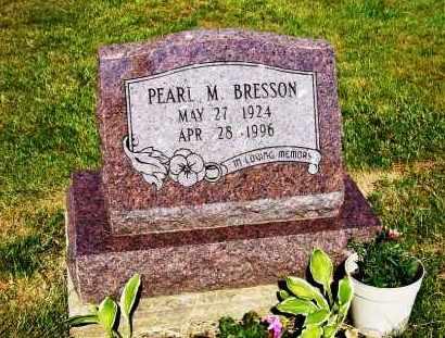 BRESSON, PEARL M. - Stark County, Ohio | PEARL M. BRESSON - Ohio Gravestone Photos