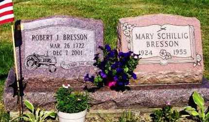 SCHILLIG BRESSON, MARY - Stark County, Ohio | MARY SCHILLIG BRESSON - Ohio Gravestone Photos