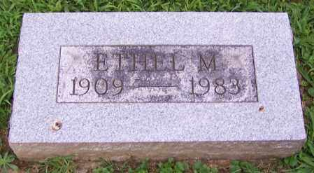 BRETING, ETHEL M. - Stark County, Ohio | ETHEL M. BRETING - Ohio Gravestone Photos