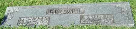 BREWER, THOMAS M. - Stark County, Ohio | THOMAS M. BREWER - Ohio Gravestone Photos